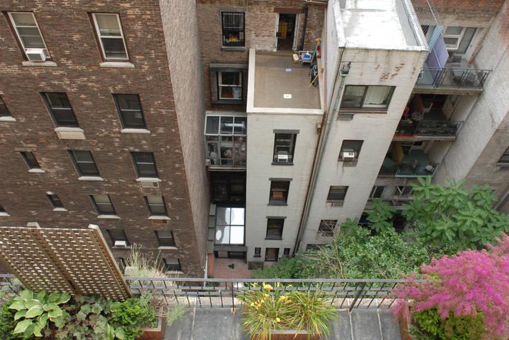 42m,72 West, New York: styl , w kategorii Taras zaprojektowany przez dziurdziaprojekt