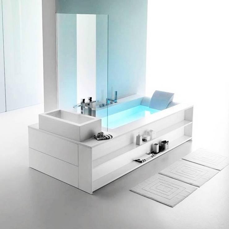 modern Bathroom by Plaza Yapı Malzemeleri