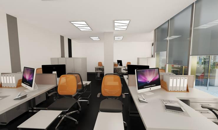 ML MIMARLIK VE DEKORASYON – KOSB YONETIM:  tarz Ofis Alanları