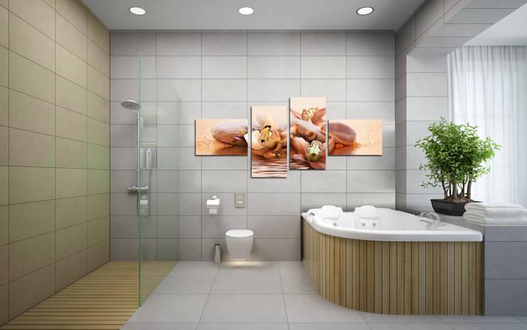 Casa de banho  por BIMAGO.it
