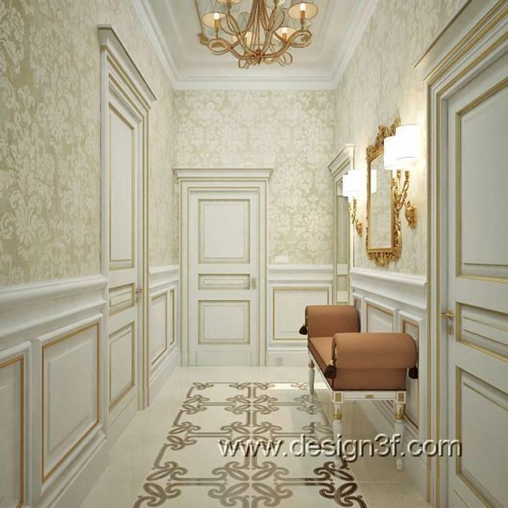 коридор: Коридор и прихожая в . Автор – студия Design3F