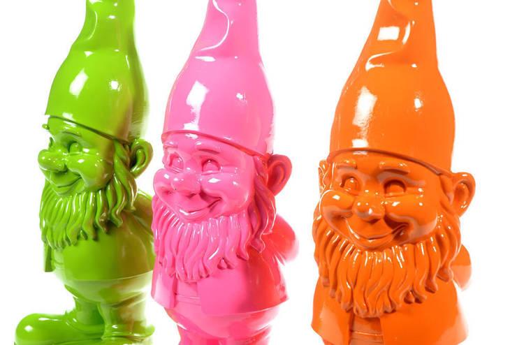 Garden dwarf :   door Groothandel in decoratie en lifestyle artikelen, Landelijk