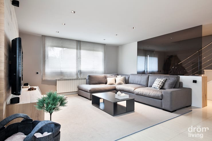 scandinavian Living room by Dröm Living