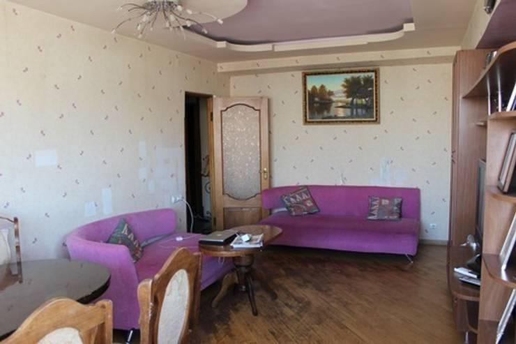 Фото гостиной до ремонта:  в . Автор – L'Essenziale Home Designs
