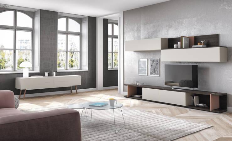 Salones Modernos: Comedor de estilo  de AZD Diseño Interior