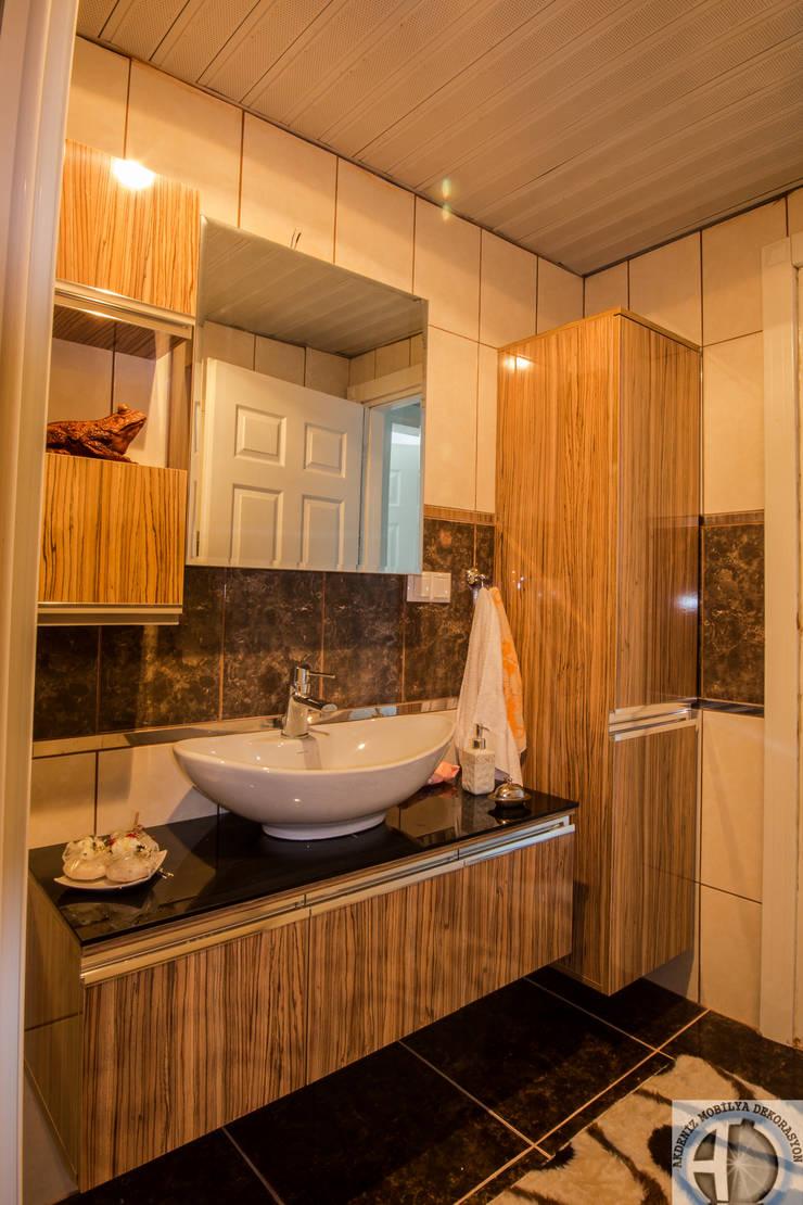 Akdeniz Dekorasyon – Banyolarınızda Şık ve Modern Hilton Lavabolar mı İstiyorsunuz?:  tarz Banyo