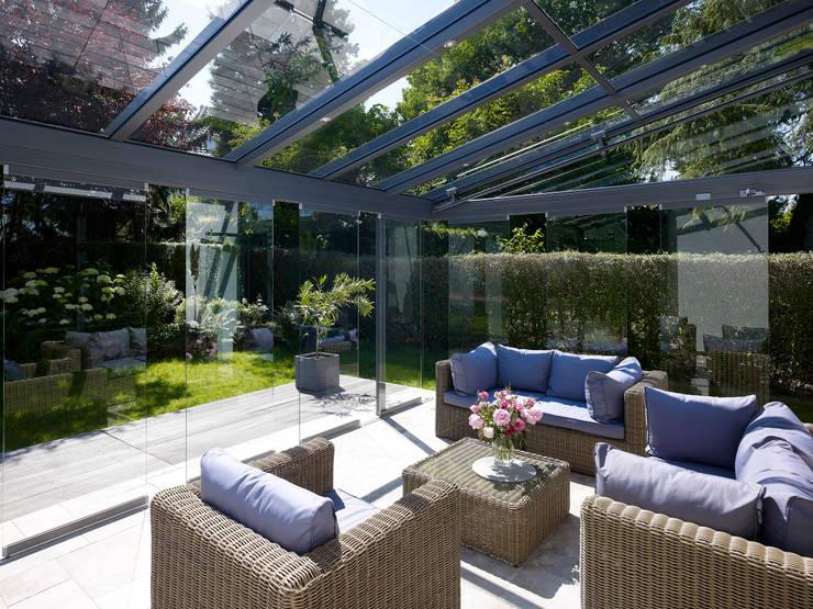 Projekty,  Okna i drzwi zaprojektowane przez Solarlux GmbH