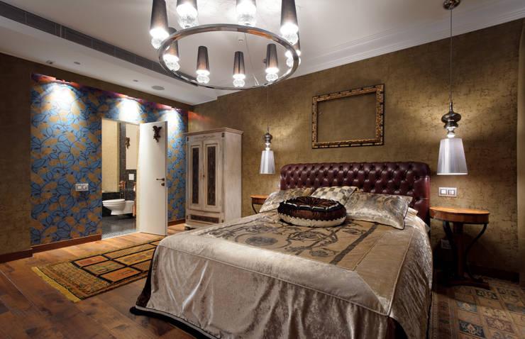 Квартира на Каменоостровском: Спальни в . Автор – GEDUEV ARCH BUREAU