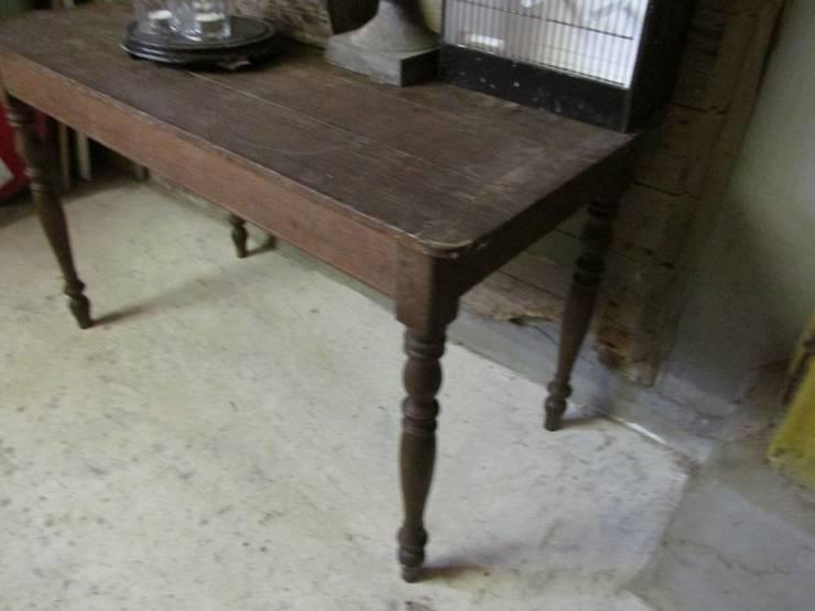 Antieke Franse eiken tafel:   door Were Home, Rustiek & Brocante