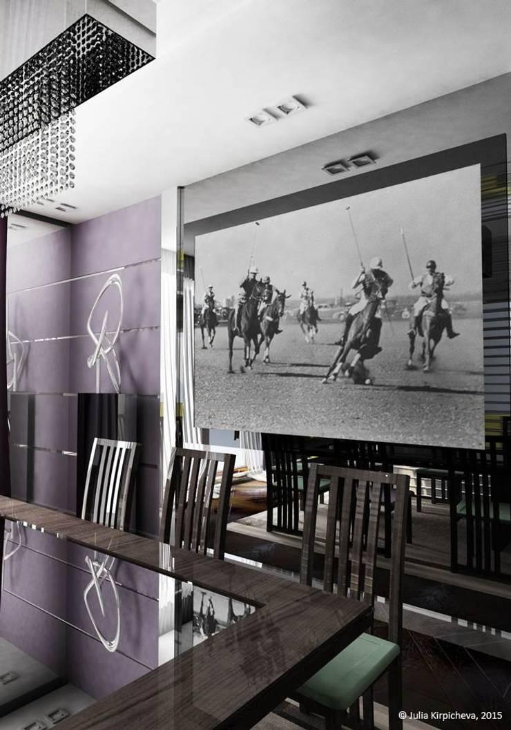 Квартира в Москве: Столовые комнаты в . Автор – Юлия Кирпичева