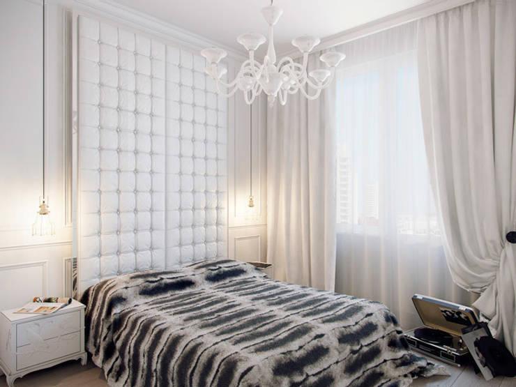 Квартира в ЖК <q>Суоми</q>: Спальни в . Автор – Студия дизайна интерьера Маши Марченко