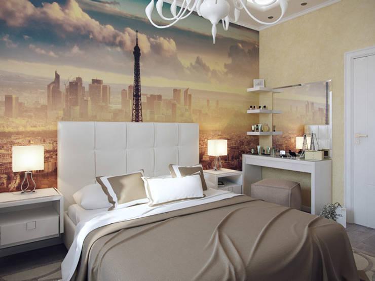Квартира в ЖК <q>Вива</q>: Спальни в . Автор – Студия дизайна интерьера Маши Марченко