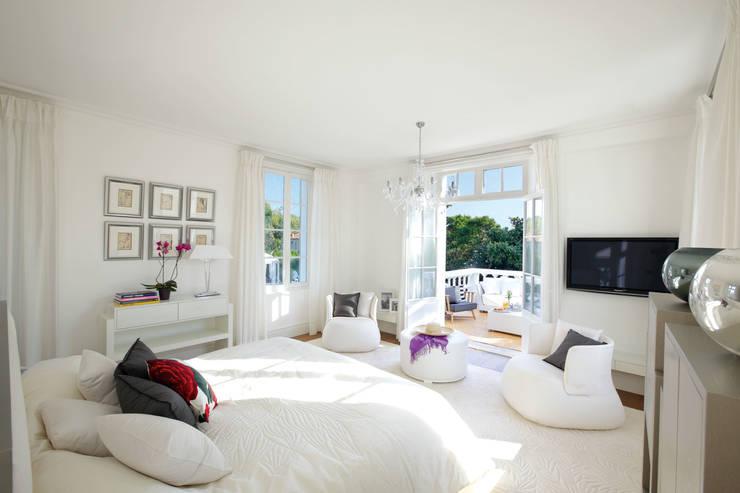Master Bedroom :  Bedroom by Heirlooms Ltd