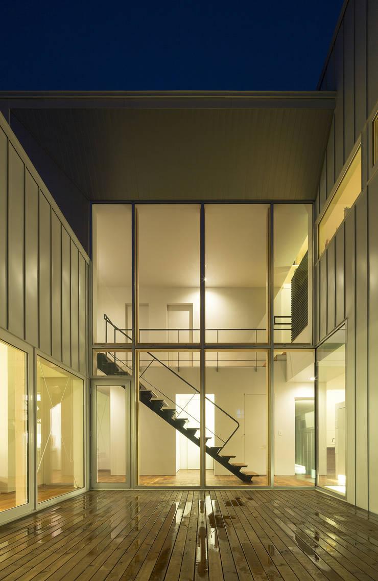 コート(中庭)-1: 一級建築士事務所 Atelier Casaが手掛けた家です。