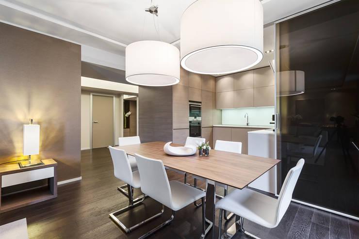 Столовые комнаты в . Автор – NG-STUDIO Interior Design,