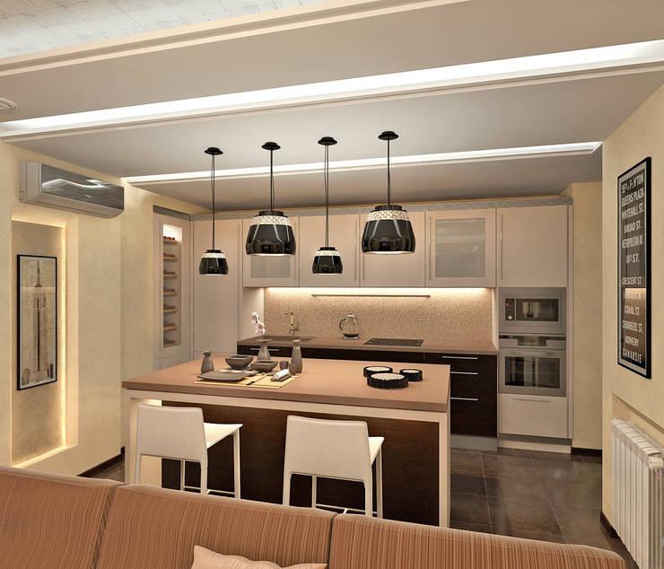 Кухня: Кухни в . Автор – Aledoconcept