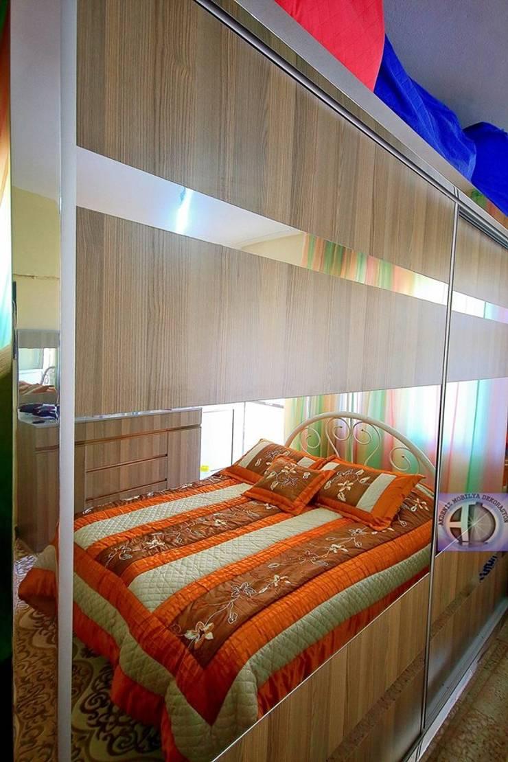 Akdeniz Dekorasyon – Yatak Odası Uygulamalarımız:  tarz Yatak Odası