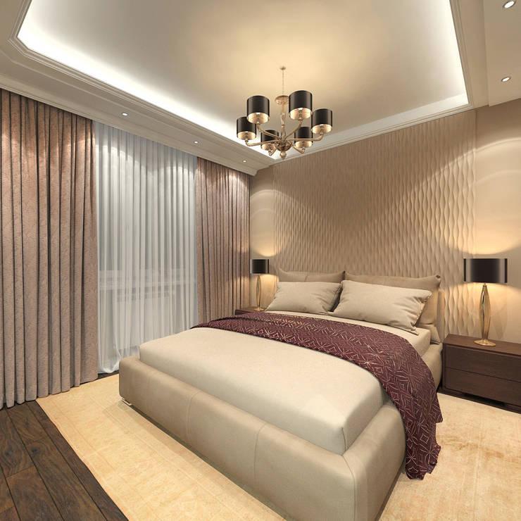 Спальня родителей: Спальни в . Автор – Aledoconcept