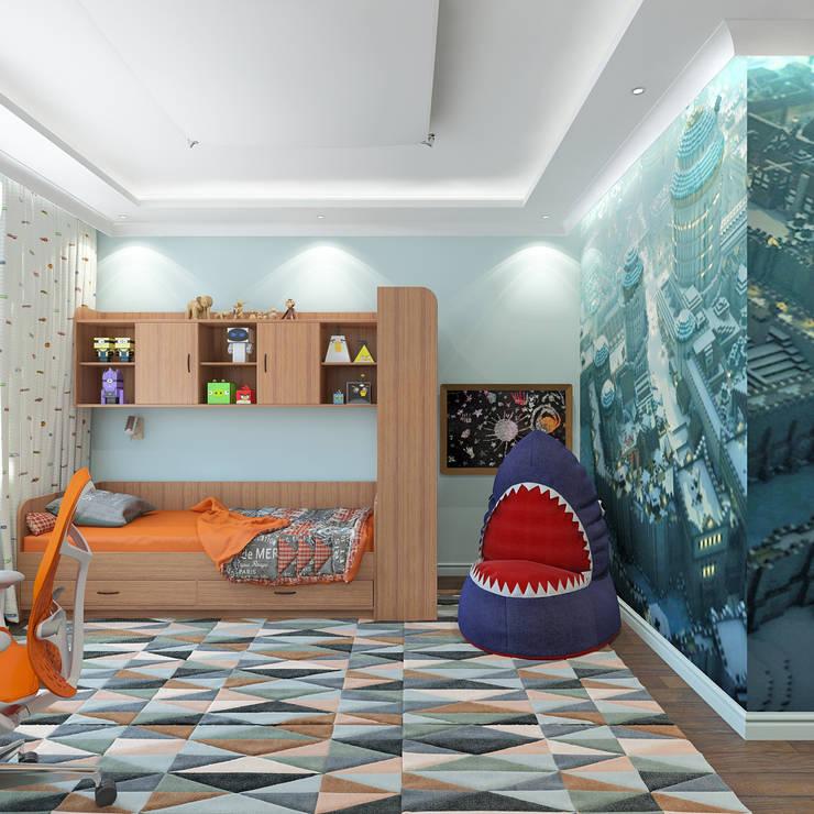Детская мальчика: Детские комнаты в . Автор – Aledoconcept