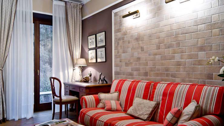 Projekty,  Domowe biuro i gabinet zaprojektowane przez NG-STUDIO Interior Design