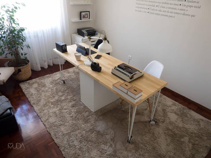 مكتب عمل أو دراسة تنفيذ MUDA Home Design