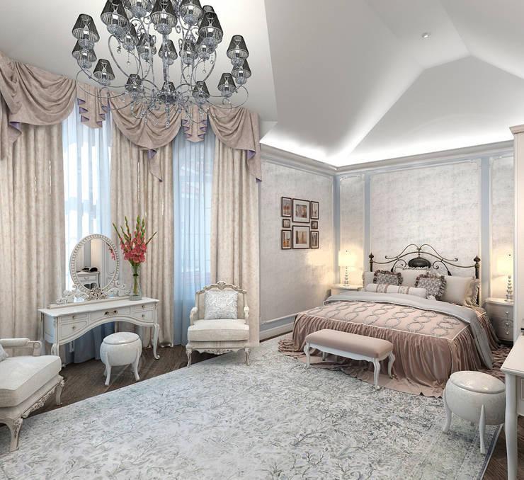 Спальня хозяев: Спальни в . Автор – Aledoconcept