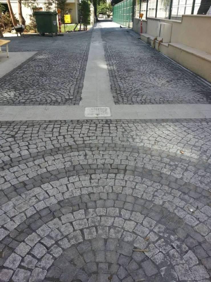 Taman oleh BAZALT KÜPTAŞ, Modern