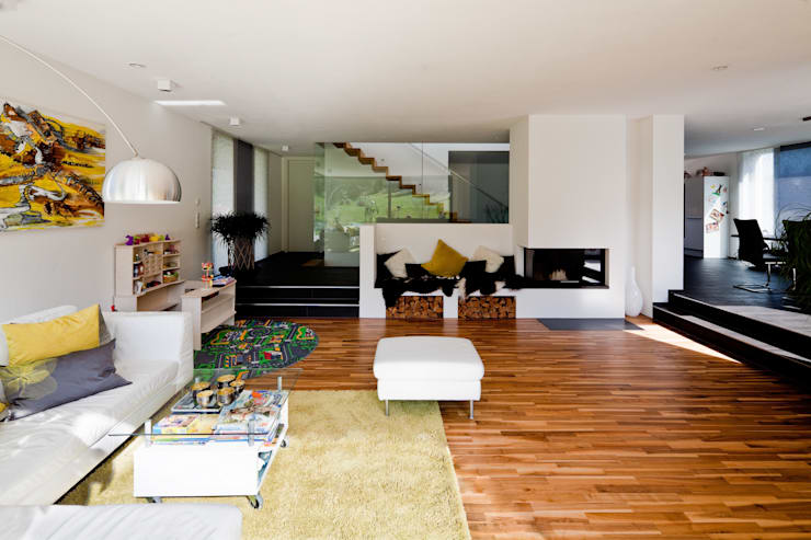 Living room by brügel_eickholt architekten gmbh