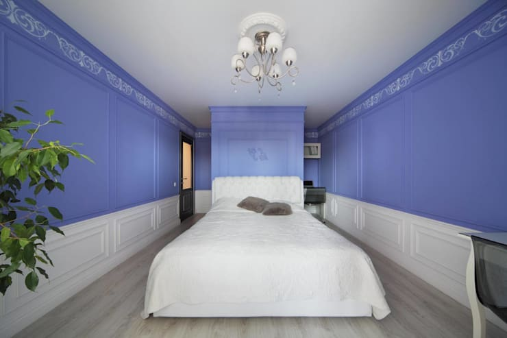 Спальня: Спальни в . Автор – Студия дизайна интерьера 'Градиз'