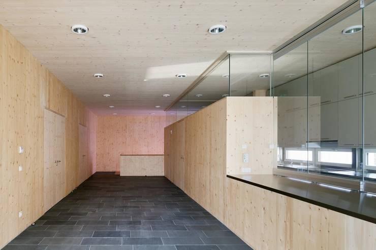 Foyer mit Theke:  Veranstaltungsorte von AAg Loebner Schäfer Weber BDA