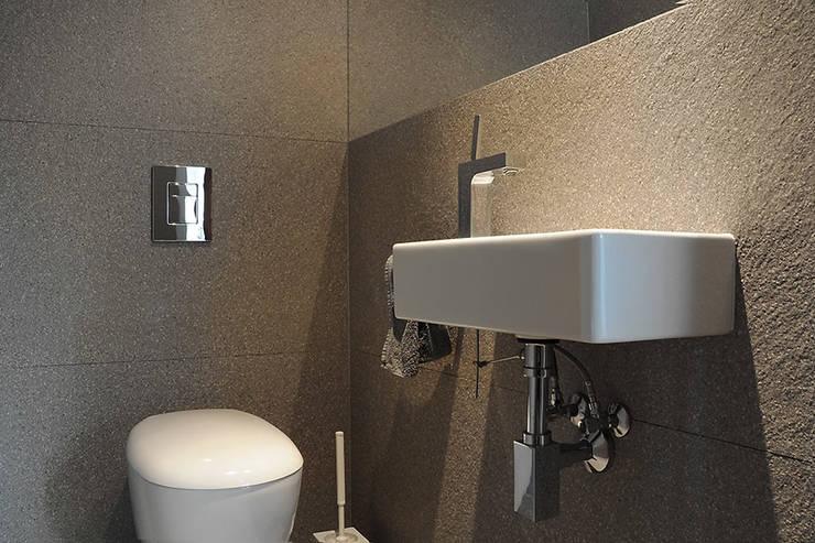 Łazienka: styl , w kategorii Łazienka zaprojektowany przez Konrad Idaszewski Architekt
