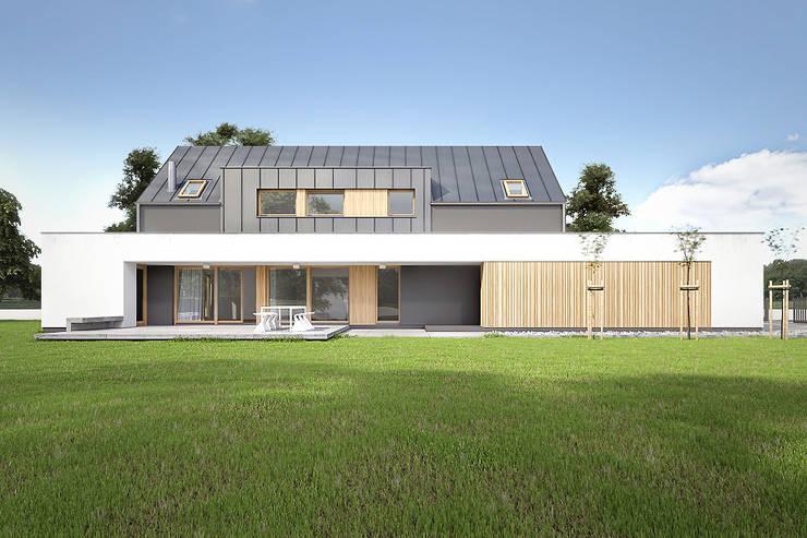 Dom: styl , w kategorii Domy zaprojektowany przez Konrad Idaszewski Architekt