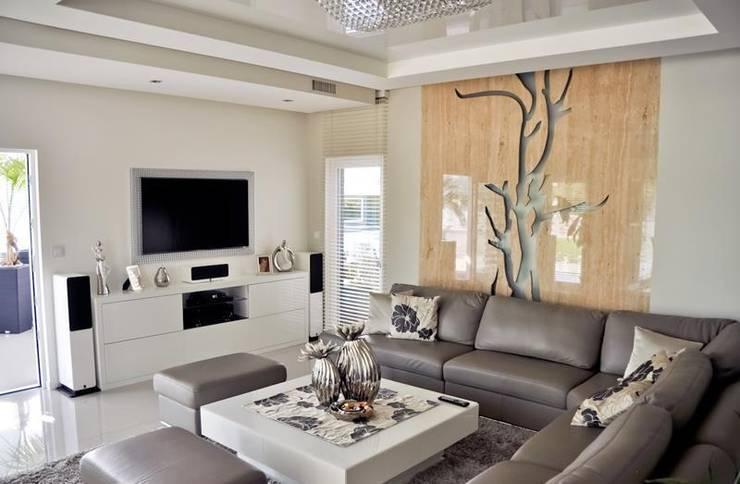 modern Living room by Abakon sp. z o.o. spółka komandytowa