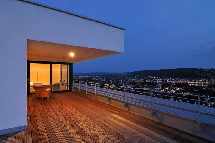 Projekty,  Taras zaprojektowane przez wirges-klein architekten