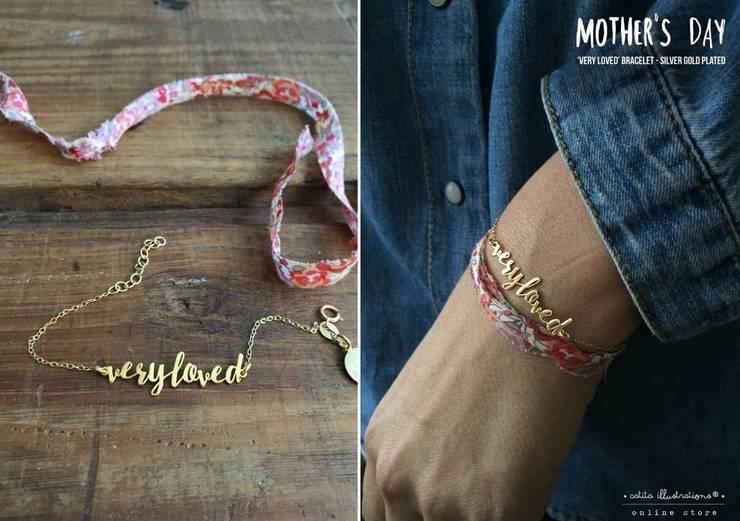 Very Loved Bracelet: Arte  por catita illustrations®