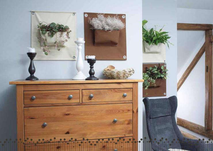 Butik Bahçe Dikey Bahçe ve Peyzaj Tasarımları  – Dikey Bahce:  tarz Koridor ve Hol