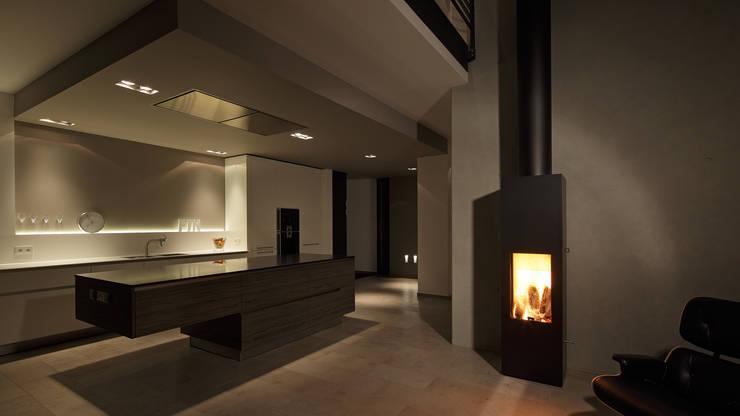 Projekty,  Kuchnia zaprojektowane przez wirges-klein architekten