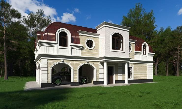 Korolev: Загородные дома в . Автор – AGTC01, Классический