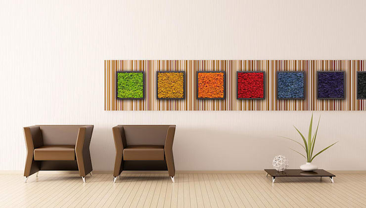 Butik Bahçe Dikey Bahçe ve Peyzaj Tasarımları  – OFİS VE eVLERİNİZDE : minimalist tarz , Minimalist