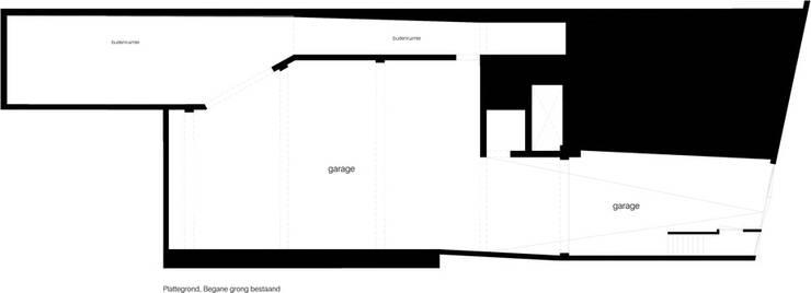 Van garage naar woonstudio:   door Het Ontwerphuis
