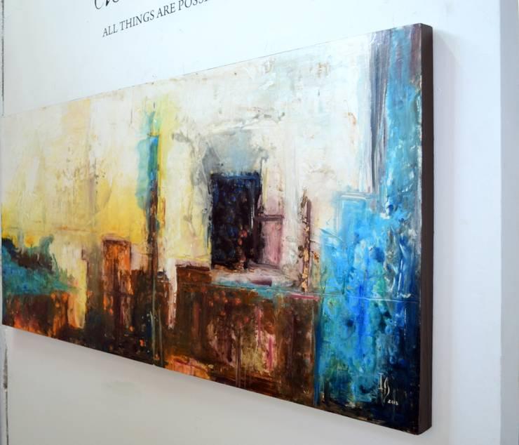 Obras Abstractas: Salas de estilo  por Galeria Ivan Guaderrama