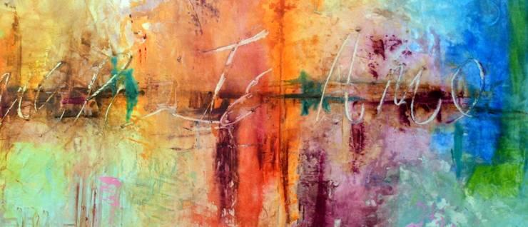 Obras Abstractas: Recámaras de estilo  por Galeria Ivan Guaderrama