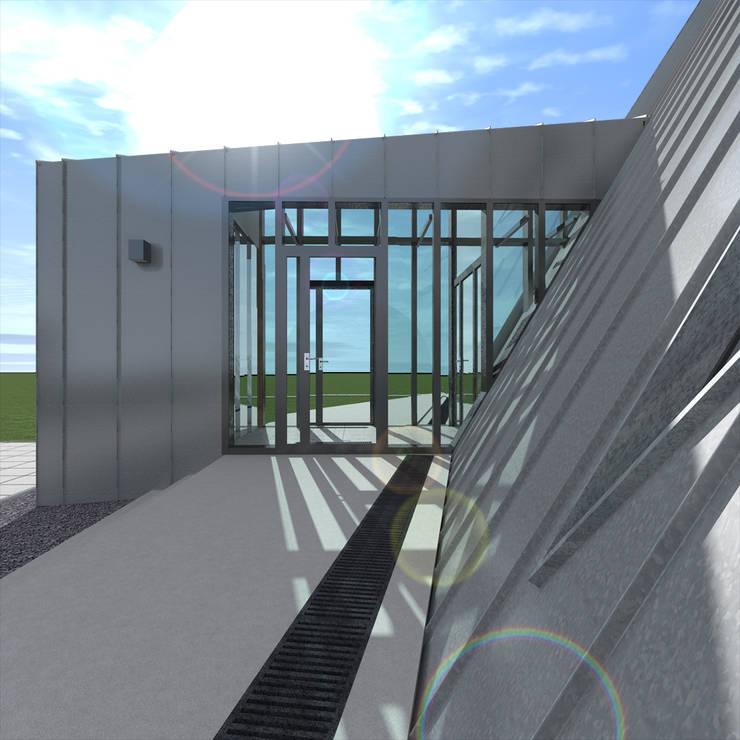 Треугольный Дом из концептуальной серии <q>Чеснок</q>: Дома в . Автор – CHM architect