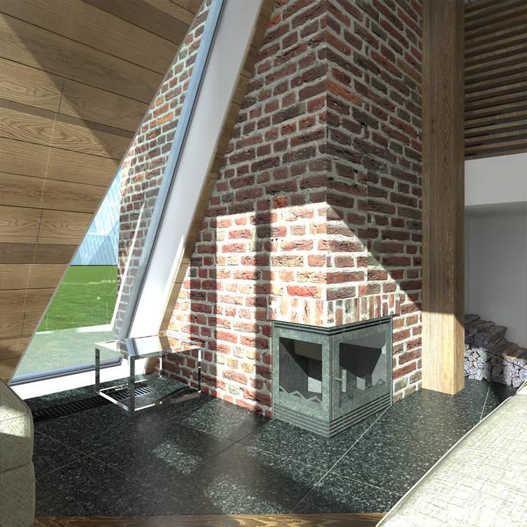 Salas de estilo minimalista por CHM architect