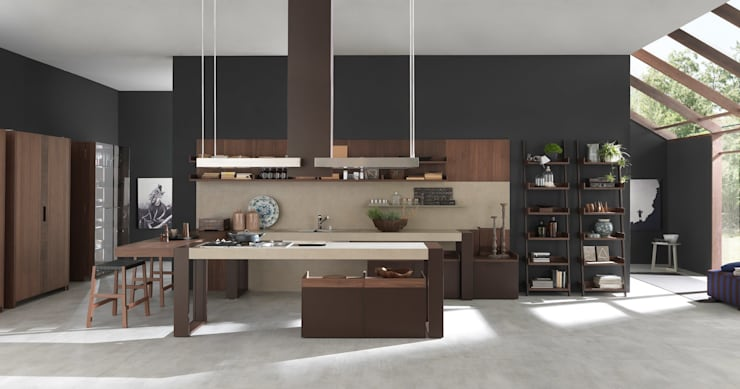 Kitchen by ARTE CUCINE/ PEDINI SAN ANGEL