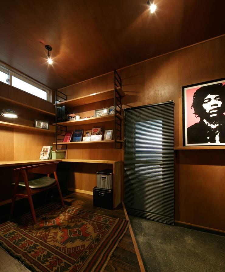 Y's HOUSE: dwarfが手掛けた書斎です。