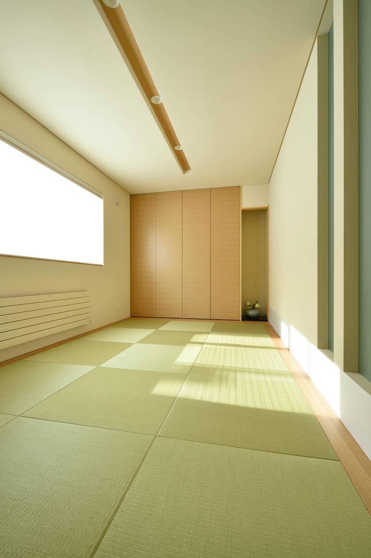 洋の住宅にもしっくりと溶け込むシンプルな和室: 株式会社スター・ウェッジが手掛けた壁です。