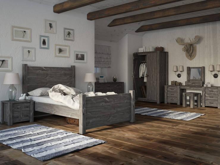 Wnętrze w stylu Country!: styl , w kategorii Sypialnia zaprojektowany przez Seart