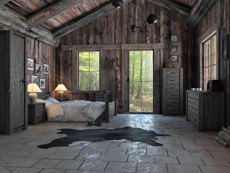 Wnętrze w stylu Country!: styl , w kategorii Salon zaprojektowany przez Seart
