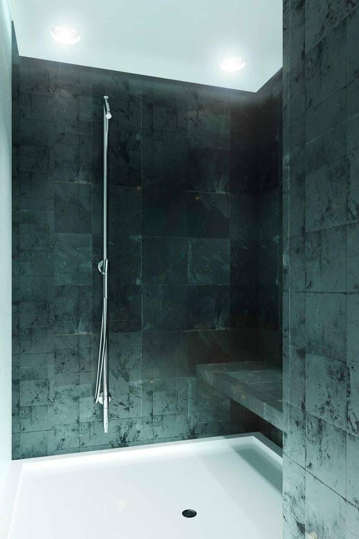188.m.r: Ванные комнаты в . Автор – Проектная студия Вишнякова и Покровского , Минимализм